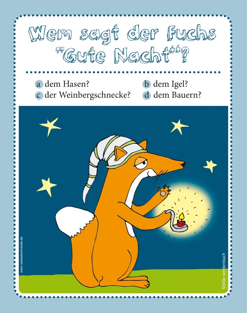 Kinderrätsel Das verrückte Tierquiz von Bille Weidenbach