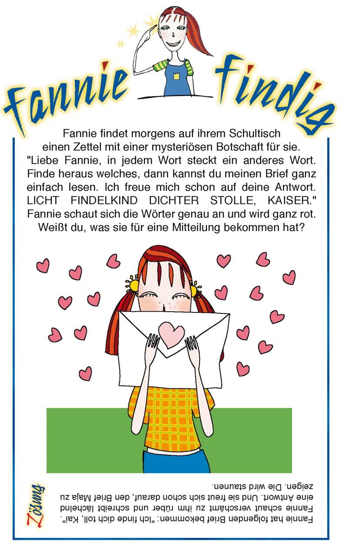 Kinderrätsel Fannie Findig von Christine Reguigne und Frauke Berg