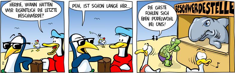 Comic Beachclub von Daniel Hinkenbrandt und Michael Köhler bei der Rätselschmiede