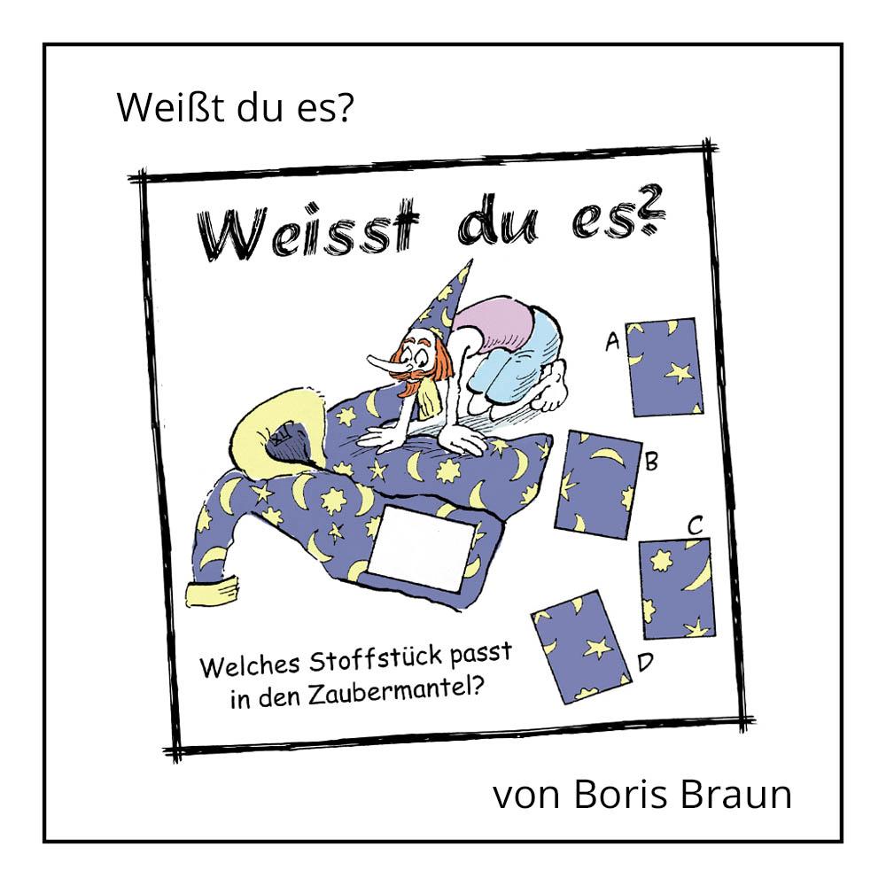 """Kinderrätsel """"Weißt du es?"""" von Boris Braun bei der Rätselschmiede"""