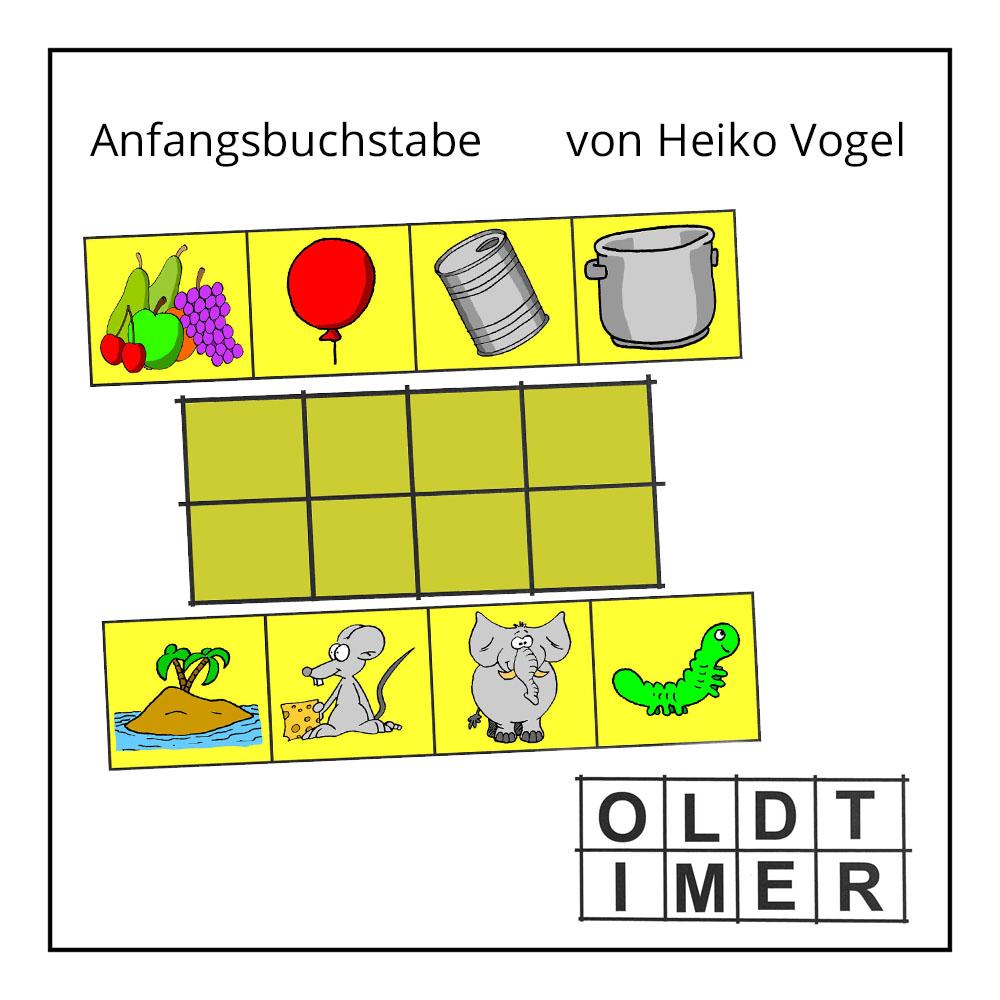 """Kinderrätsel """"Anfangsbuchstabe"""" von Heiko Vogel bei der Rätselschmiede"""