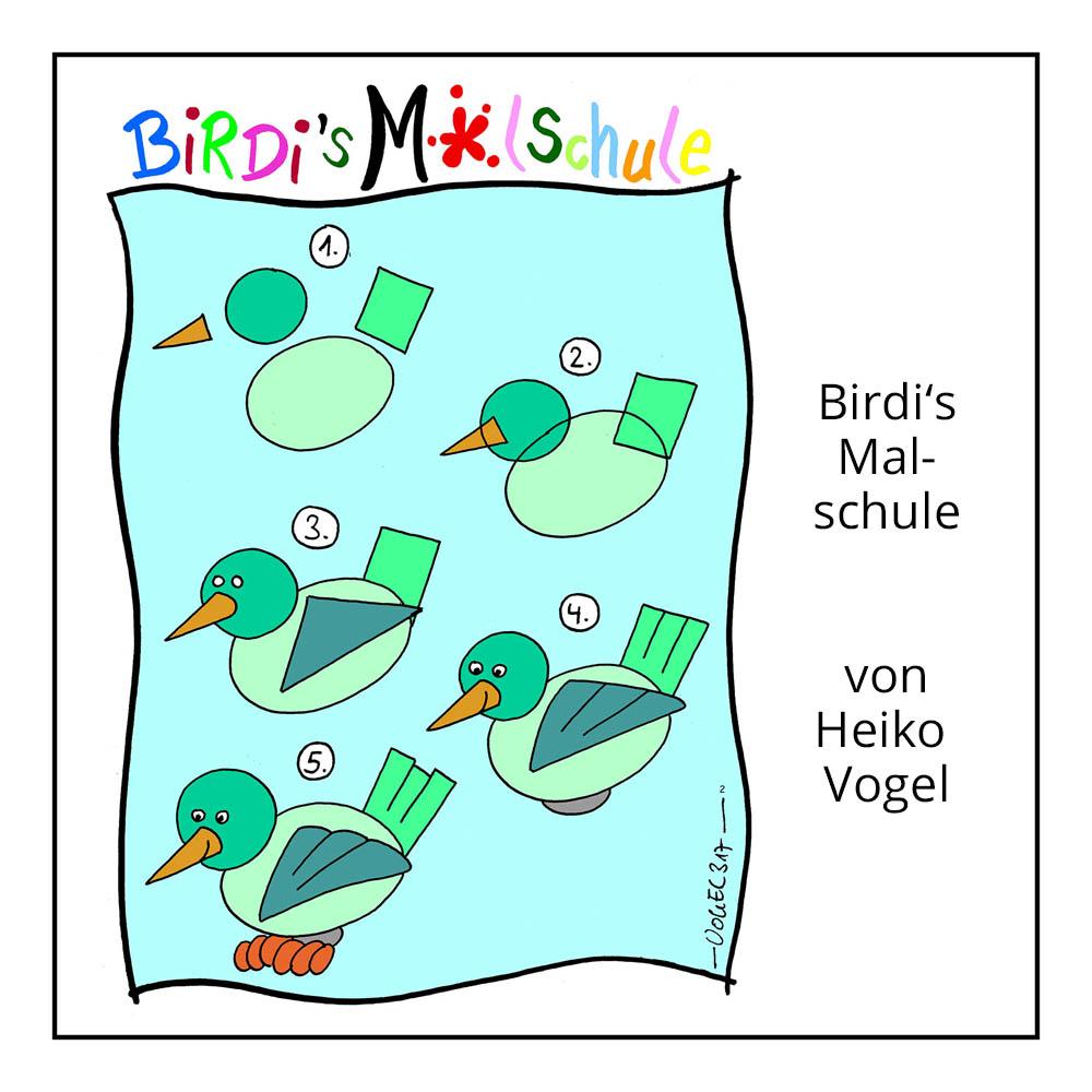 """Kinderrätsel """"Malschule"""" von Heiko Vogel bei der Rätselschmiede"""