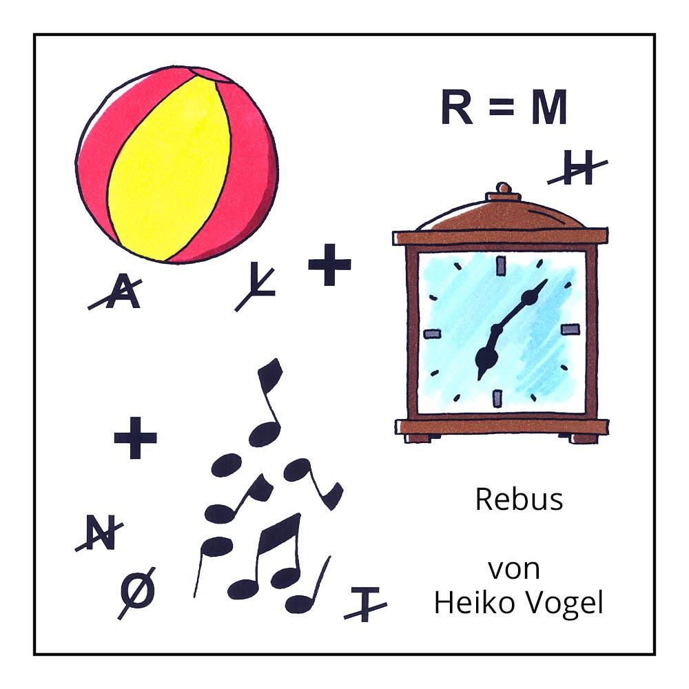 """Kinderrätsel """"Rebus"""" von Heiko Vogel bei der Rätselschmiede"""