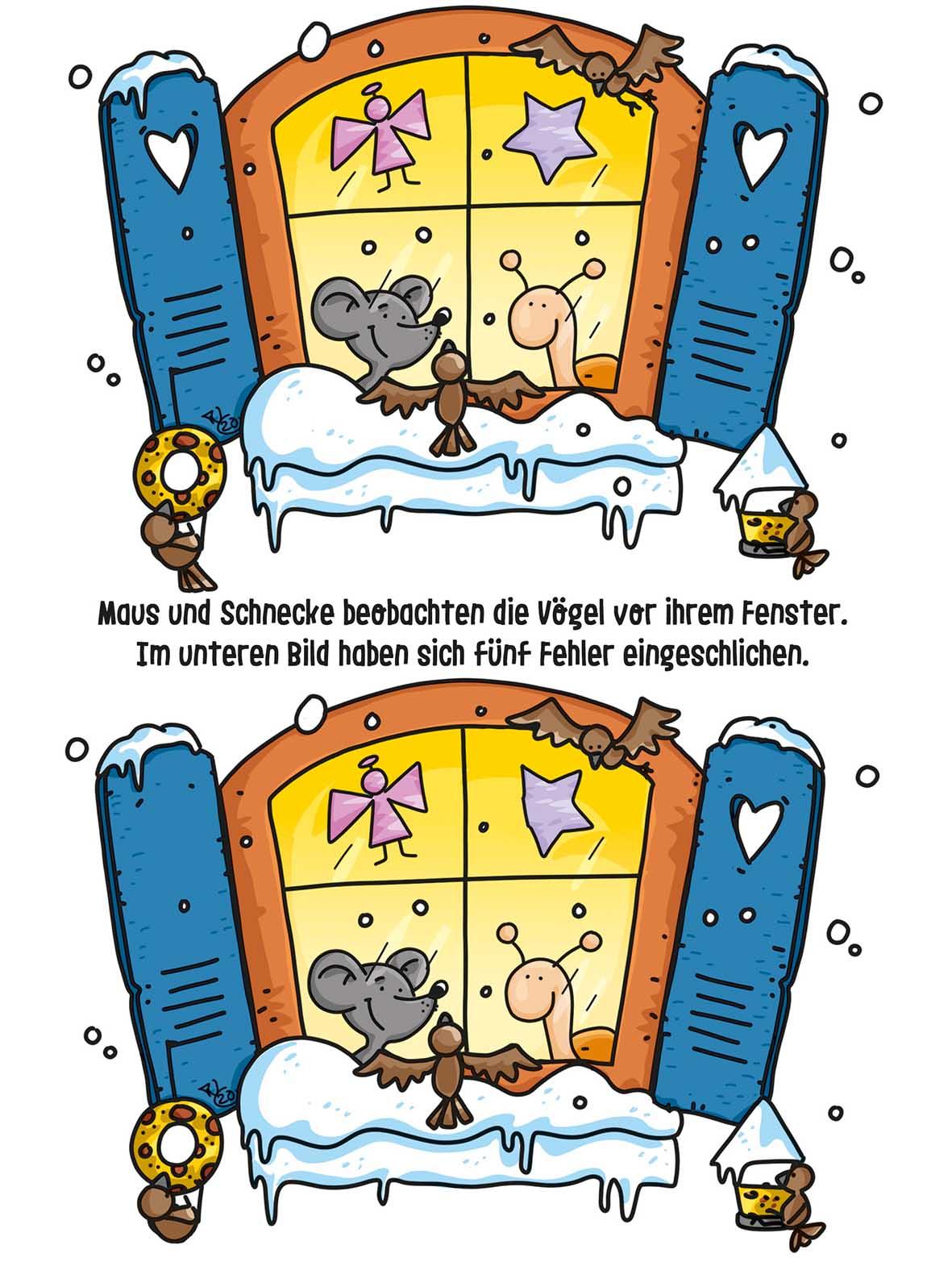 """Kinderrätsel """"Maus und Schnecke"""" von Thorsten Trantow bei der Rätselschmiede"""